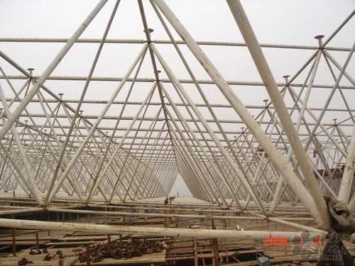 山东省油罐钢结构安装公司 化工石油工程 钢结构网架